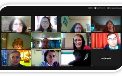 Encuentro reflexivo Equipo Colegio Pierre Faure Punta Arenas y  Equipo Gestión Pastoral pedagógico