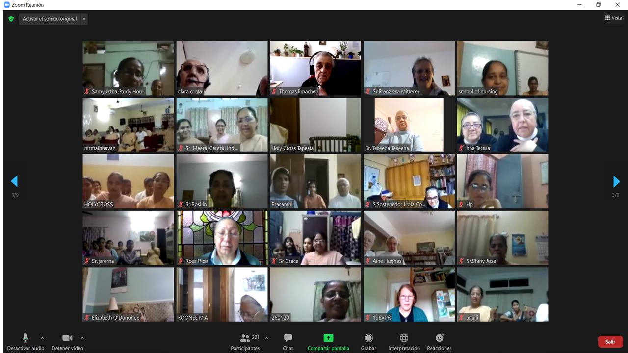 Encuentro mundial de la Congregación Hermanas Maestras de la Santa Cruz